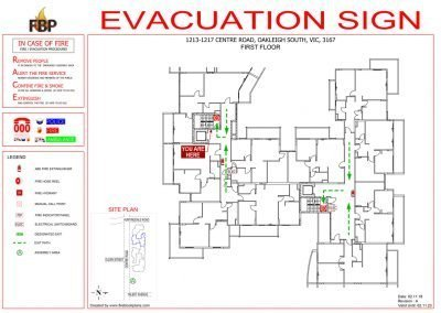 Clarindale-Apartments-Evacs-1st-Floor-Evacuation-Diagram
