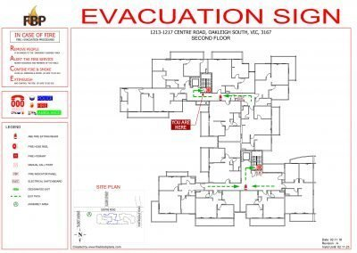 Clarindale-Apartments-Evacs-2nd-Floor-Evacuation-Diagram