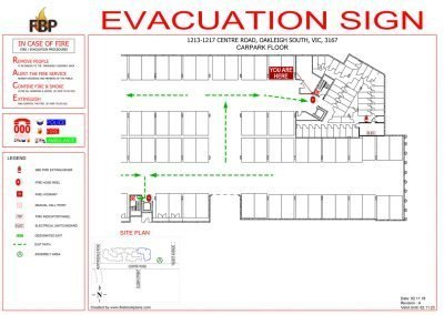 Clarindale-Apartments-Evacs-Carpark-Evacuation-Diagram