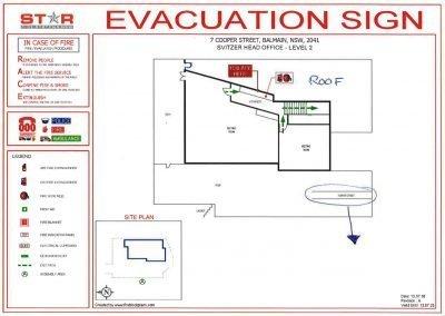 Svitzer Evacuation Diagram