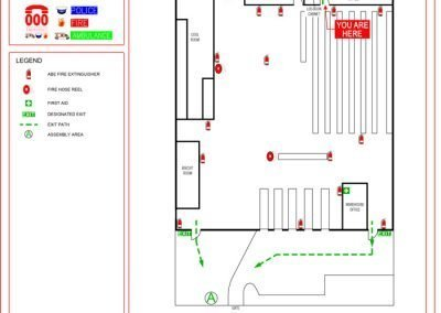 85-87-Riggall-St-Evacuation-Diagram
