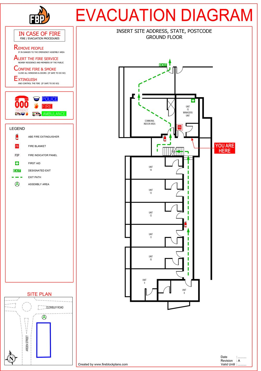 Emergency Evacuation Diagrams Australia - Fire Protection Australia