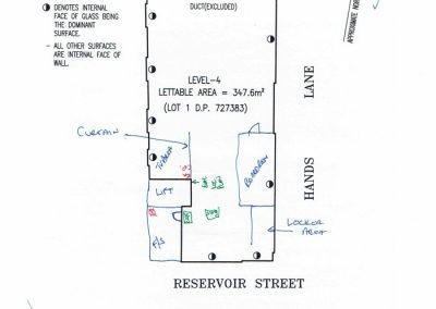 60 Reservoir Street Evacuation Diagrams MarkUps