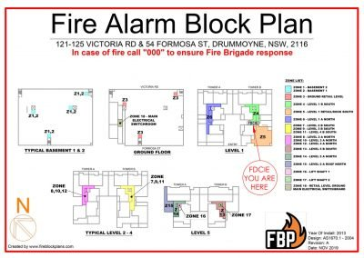 Zone Block Plan