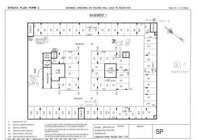Fire Zone Block Plan