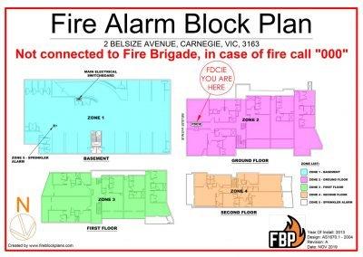 2 Belsize Avenue Zone Block Plan