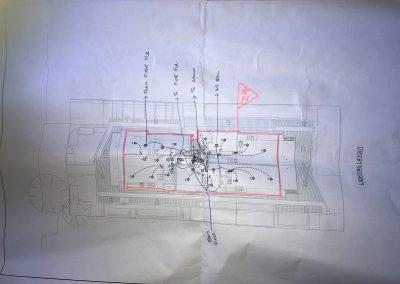 Second Floor Markup